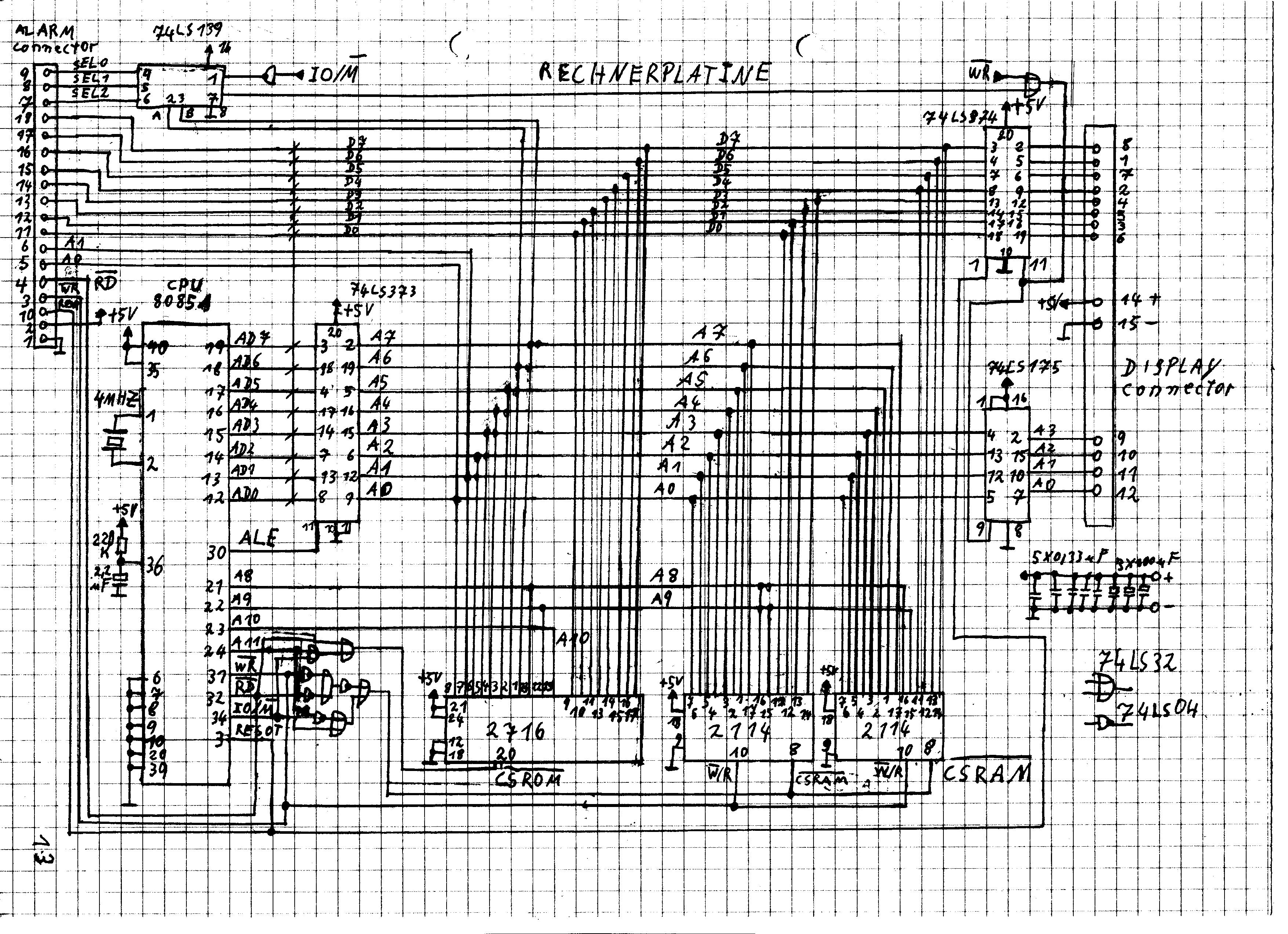 Berühmt Verkehrssignal Schaltplan Galerie - Der Schaltplan ...